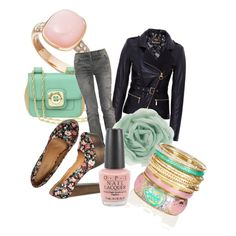blushed mint, created by beckysquibb on Polyvore