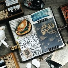 """147 Likes, 1 Comments - Evon (@lollalane) on Instagram: """"Journal is a form of expression. What my journal spreads speak about me?  Besides that I'm quite a…"""""""