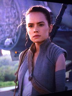 Rey's outfit is too cute!
