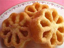 Norwegian Rosette Cookies