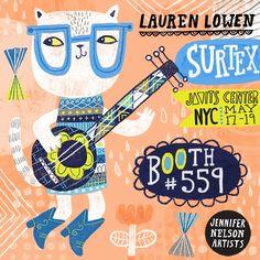 surtex...Lauren Lowen