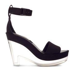 Bolsos y zapatos transparentes de primavera verano 2013: Stella McCartney