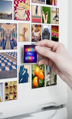 Refrigerator art magnets: DIY ideas that will help you decorate your home Diy Projects To Try, Craft Projects, Cozy Living Spaces, Little Presents, Gadgets, Fluffy Dogs, Photo Magnets, Diy Photo, Diy Art