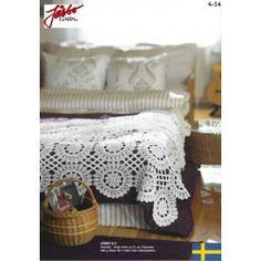 Moster Gunillas sengetæppe (4-14 - opskrift) - Järbo