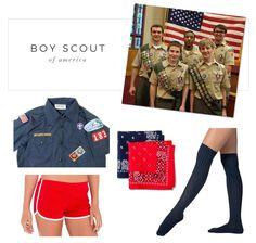 boy scout costume, easy costume, halloween costume ideas, diy halloween costume