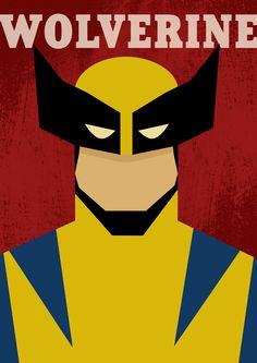 Wolverine Poster, Batman Poster, Superhero Poster, Batman Art, Marvel Vs, Marvel Dc Comics, Trill Art, Comic Face, Posters Vintage