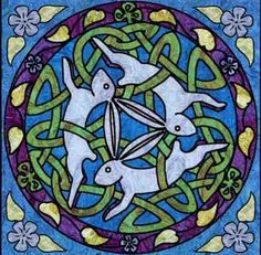 Celtic Three Hares Wall Hanging Quilt Pattern