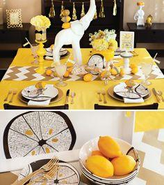 """MADHOUSE """"Lemonwood"""" Inspired Tablescape"""