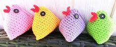 kyckling-kycklingar-påsk-påskkycklingar-pyssel-pyssla-handarbete-virka-virkat-näbb-mun