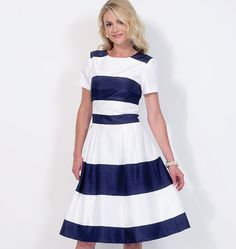 Misses' Striped Dresses, M7082 http://mccallpattern.mccall.com/m7082-products-49277.php?page_id=96