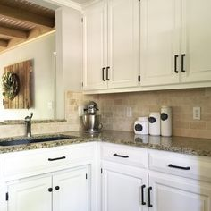 Sherwin Williams Alabaster White Kitchen Cabinets