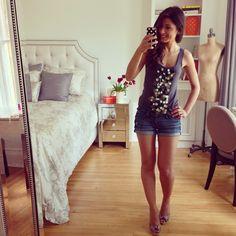Mimi Ikonn | Jean shorts