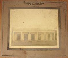 1910 Photograph Pharmacy Drug Store Exterior Puerta de Golpe Pinar Del Rio Cuba | eBay