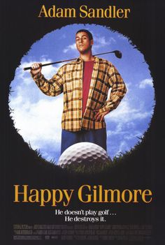 Happy Gilmore FRIDGE MAGNET 6x8 Adam Sandler Magnetic Movie Poster