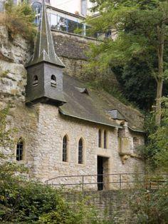 Historic Quirinus Chapel, Luxembourg City, LUXEMBOURG.