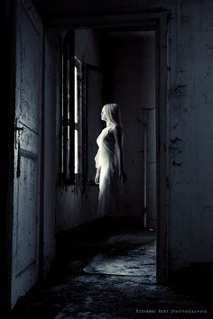 ghost that you do not want making eye contact with!