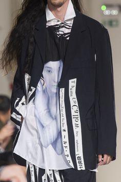 Yohji Yamamoto Spring 2018