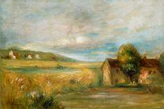 Image detail for -Pierre-Auguste Renoir - Summer Landscape