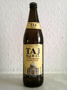 TalMahal Indian Beer - I did find this (on google) as a suggestion for curry, and I have also tried it with a basic chicken curry myself and quite like it.