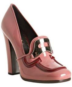 Cherry Loafers Prada