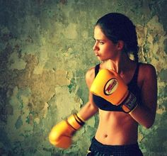 my new obsession, boxing. Such an awesome workout!! (doesn't hurt that I have an awesome private instructor!)