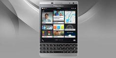 BlackBerry Passport Silver Edition  #BlackBerry #BlackBerryPassport