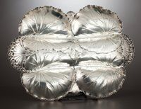 Silver Holloware, American:Trays, AN AMERICAN SILVER SERVING TRAY . International Silver Co.,Meriden, Connecticut, circa 1990. Marks: (eagle), STERLING,...