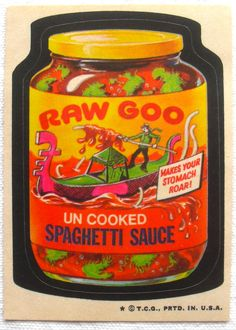 The fourth series of the 1973 edition of Topps Wacky Packages stickers.