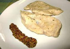 Receta casera de Pechugas de pollo con mostaza en grano