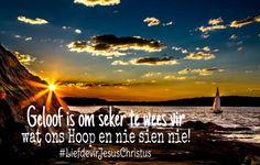 #Geloof #Hoop #LiefdevirJesusChristus
