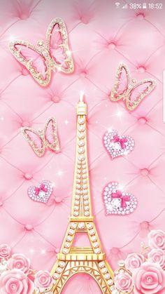 Find the best Pink Paris Wallpaper on GetWallpapers. Pink Paris Wallpaper, Paris Wallpaper Iphone, Glitter Wallpaper Iphone, Cross Wallpaper, Bling Wallpaper, Butterfly Wallpaper, Cellphone Wallpaper, Galaxy Wallpaper, Trendy Wallpaper