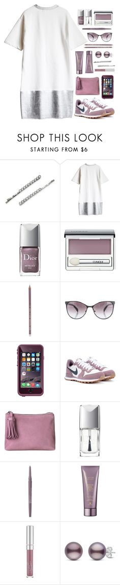 """.before caffeine."" by vvasiliana ❤ liked on Polyvore featuring 1928, Christian Dior, Clinique, Blend Minerals, Marc Jacobs, NIKE, BeckSöndergaard, Smashbox and Alterna"