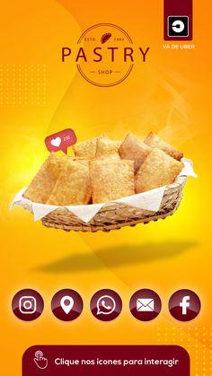 Food Poster Design, Food Design, App Design, Business Cards Online, Digital Business Card, Pastry Art, Pastry Chef, Pastry School, Pastry Design