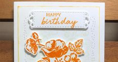 Hello again my friends, The Shaded Summer stamp set (#155783) can be found in the Annual catalogue. For those who love to have dies that co... Pansies, Stamping, Happy Birthday, Bloom, Shades, Flower, Friends, Summer, Christmas