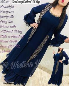 Fancy Dress Design, Stylish Dress Designs, Designs For Dresses, Stylish Dresses, Indian Bridal Fashion, Indian Fashion Dresses, Indian Designer Outfits, Muslim Fashion, A Line Skirt Outfits