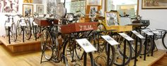 The museum exhibits a valuable collection of bicycles,  accessories and national and international cycling memories collected by its founder, Sergio Sanvido.