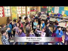 Test prep can get stressful, but not for these third graders. this version has words. School Classroom, School Fun, Staar Test, Version Francaise, Pep Rally, School Videos, Student Motivation, Study Skills, 3rd Grade Math