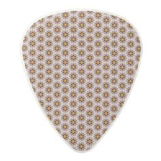 Abstract pattern design polycarbonate guitar pick - pattern sample design template diy cyo customize