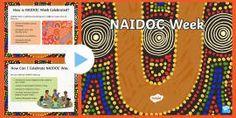 NAIDOC Week Display Bunting - Australia Festivals & Celebrations