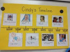 Timeline Project For Young Kids  Use Class Timeline First Then