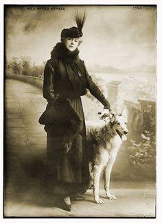 mrs walther werner and dog by janwillemsen, via Flickr