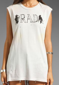 UNIF Rad Sleeveless Tee in Acid Dye at Revolve Clothing - Free Shipping!