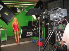 Megan from VH1 doing interviews in Loyal Studio's Burbank Studio