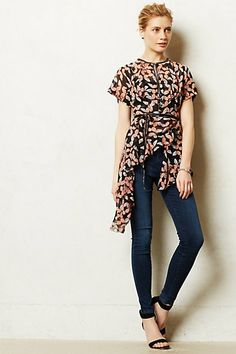Monarch Wrap Blouse