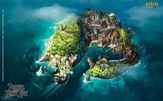 game design pirates cove - Google Search