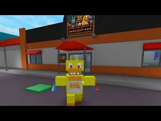 ROBLOX FIVE NIGHTS AT FREDDY'S ANIMATRONIC WORLD | FNAF ROLEPLAY | RADIOJH GAMES - YouTube