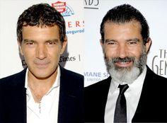 Antonio Banderas de Les barbus d'Hollywood  Puisqu'il n'a pas à être à l'écran pour Shrek 4, ilétait une fin, l'acteur espagnol semble ne plus se tailler les moustaches. C'est bien pour le chat botté, mais pas pour Antonio.