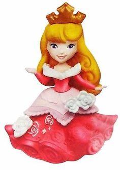 New-Aurora-Disney-Princess-Little-Kingdom-Doll-Mini-Figure-Toy-Snap-Ins-NIP