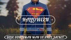 Blue Man of steel Jacket is now presented by NewAmericanJackets. Collect Man Of Steel Superman Leather Jacket with free gifts + easy return/Exchange. GUARANTEED DELIVERY BEFORE HALLOWEEN  UPTO 40% OFF + FREE SHIPPING #Superman #Smallville #Celebrity #colorability #everydaystyle #styleinspo #styleatanyage #clothes #fashiondaily #fashionlovers #fashiondesigner #weeken