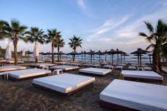 Marbella Beach Club Marbella Beach Club, Marbella Spain, Outdoor Furniture Sets, Outdoor Decor, Summer Travel, Sun Lounger, Travel Inspiration, Chaise Longue